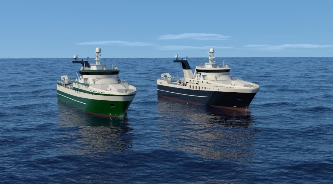 Coming into force of two ship building contracts for the construction of two stern trawlers