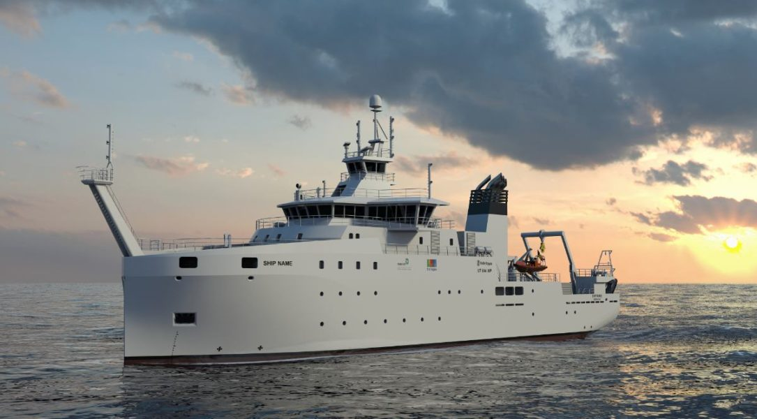 Entrada en vigor de la construcción de un buque de investigación oceanográfica para la Armada Belga