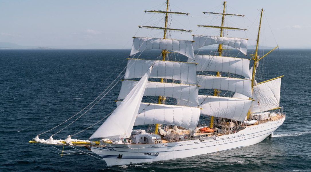 Sail training ship for Indonesian Navy