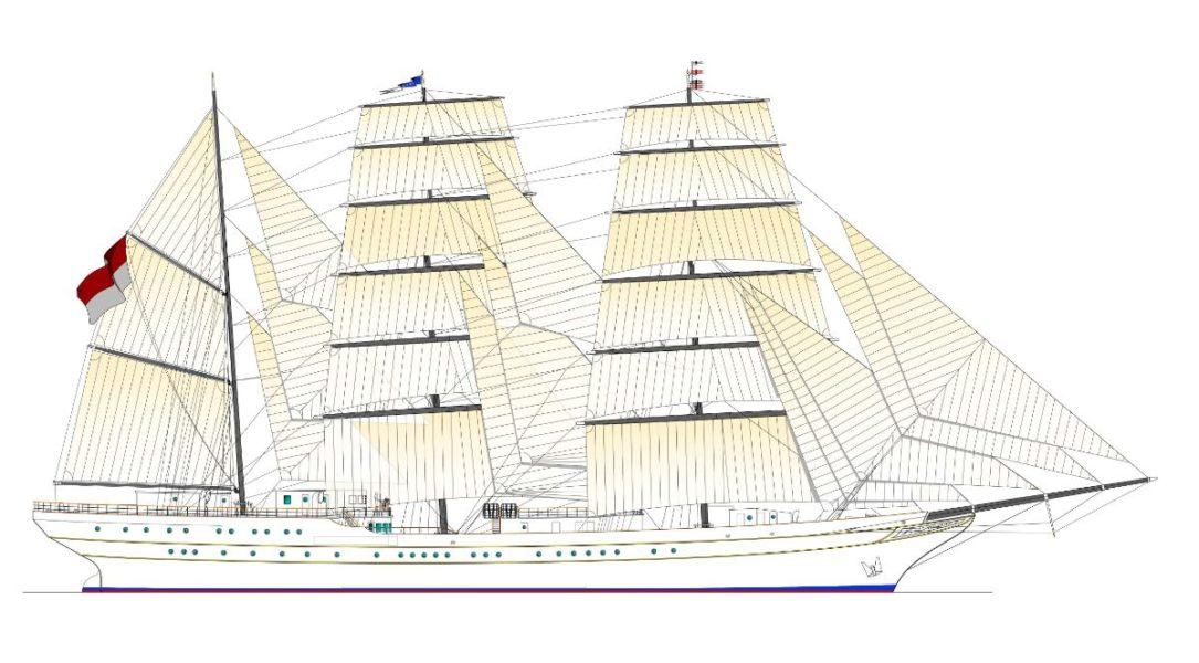 Entrada en vigor del contrato de construcción de un buque escuela para el Ministerio de Defensa de Indonesia
