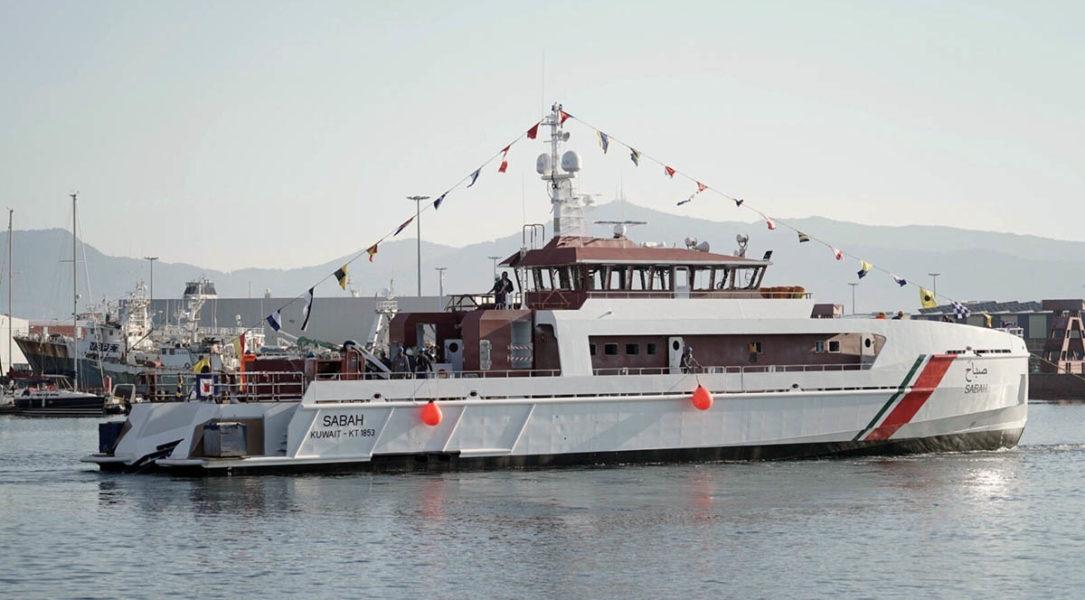 C.N.P. FREIRE, S.A. (Freire Shipyard) bota un buque para Kuwait