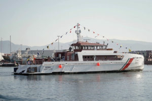 C.N.P. FREIRE, S.A. (Freire Shipyard) launches vessel for Kuwait