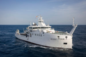 "Sea trials on Oceanographic Research Vessel ""Belgica"" concluded"