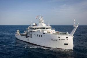 """Concluyen las pruebas de mar del Buque Oceanográfico """"Belgica"""""""